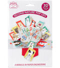 Express Yourself MIP 3D Pop-Up Greeting Card-Happy Birthday Dogs