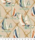 P/K Lifestyles Home Decor 8\u0022x8\u0022 Swatch-On Sail Canvas