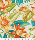 Tommy Bahama Outdoor Fabric 9\u0022x9\u0022 Swatch-Botanical Glow Tiger Lily