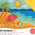 American Crafts Variety Cardstock Pack 12\u0022X12\u0022-Summer
