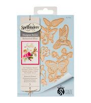 Spellbinders Shapeabilities Etched Die-Botanical Flutters, , hi-res
