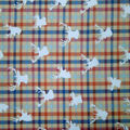 Quilter\u0027s Showcase Cotton Fabric-Marzipan Check Stag Head