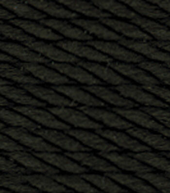 Red Heart Size 18 Nylon Crochet Thread-Black