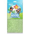 Perler Beads 6000 Pack-Glow In The Dark