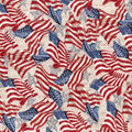 Patriotic Cotton Fabric-Flag and Stars