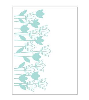 Park Lane A2 Embossing Folder-Tulips