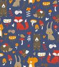 Snuggle Flannel Fabric -Whimsical Woodland