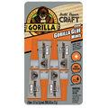 Gorilla Glue 4 pk Mini Tubes-Clear