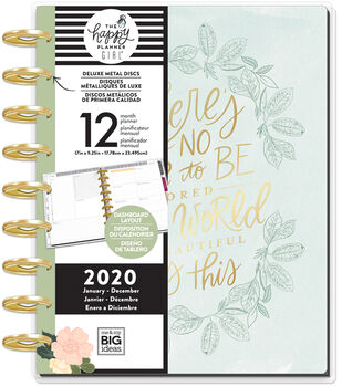 The Happy Planner Girl Deluxe Classic 2020 Planner-Homebody World