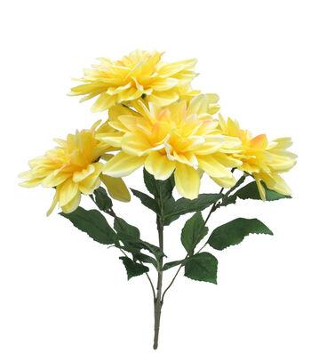 Fresh Picked Spring 20'' Dahlia Bush-Yellow