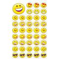 Emoji Cheer superShapes Stickers-Large 336 Per Pack, 6 Packs