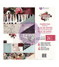 Prima Marketing Midnight Garden 24-sheet Double-sided Paper Pad
