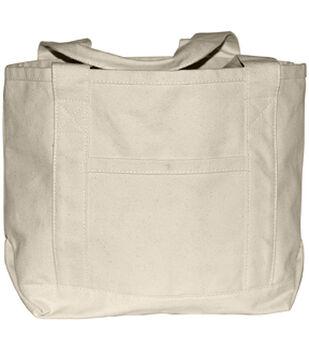 Canvas Boat Bag-Natural