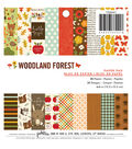 Pebbles Woodland Forest Pack of 36 6\u0027\u0027x6\u0027\u0027 Paper Pad