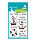 Lawn Fawn Clear Stamps 3\u0022X4\u0022-Float My Boat