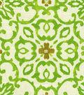 HGTV Home Lightweight Decor Fabric-Souvenir Scroll Granny Smith
