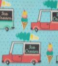 Anti-Pill Fleece Fabric 59\u0022-Ice Cream Trucks