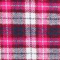 Plaiditudes Brushed Cotton Fabric-Pink, Navy & Burgundy Plaid