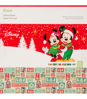 Cricut Deluxe Paper-Disney Mickey & Friends Cozy Christmas, , hi-res