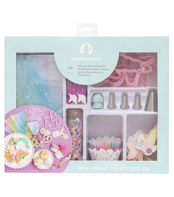 The Sweet Tooth Fairy Unicorn Party Decorating Kit