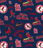Cooperstown Saint Louis Cardinals Cotton Fabric, , hi-res