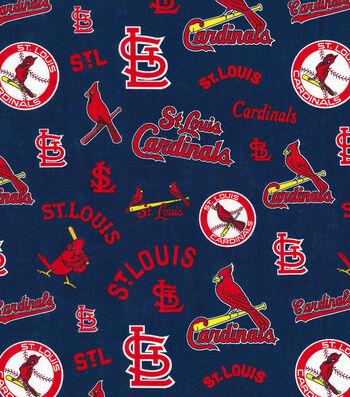 Cooperstown Saint Louis Cardinals Cotton Fabric