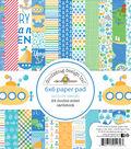 Doodlebug Double-Sided Paper Pad 6\u0022X6\u0022-Anchors Aweigh