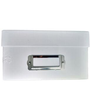 Photo Storage Box-White