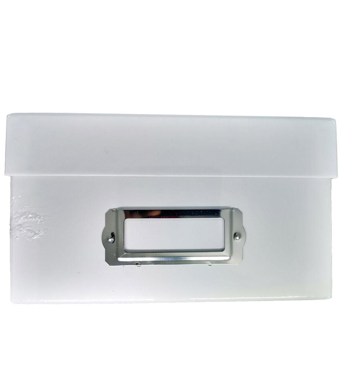 Genial Photo Storage Box White