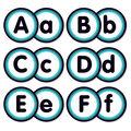 Aqua Oasis: Alphabet Bulletin Board Set