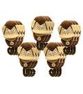 5 Little Monkeys Monkey Mitt Set, 3 Sets
