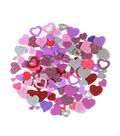 Little Makers Solid And Glitter Foam-Hearts