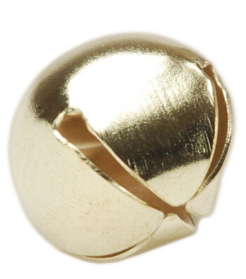 Darice 35mm Jingle Bells-4PK/Gold