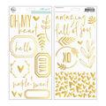 Simple & Sweet Puffy Stickers 5.5\u0022X11\u0022  -Accent, 88/Pkg