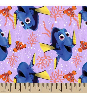 "Disney Finding Dory Cotton Fabric 43""-Seaweed"