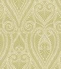 Home Decor 8\u0022x8\u0022 Swatch Fabric-IMAN Home Isen Damask Bamboo