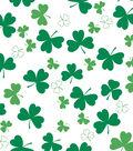St. Patrick\u0027s Day Decor 52\u0027\u0027x90\u0027\u0027 Tablecloth-Shamrock All Over