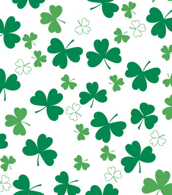 St. Patrick's Day Decor 52''x90'' Tablecloth-Shamrock All Over