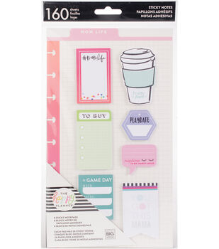 The Happy Planner 160-sheets Classic Sticky Notes-Mom Life