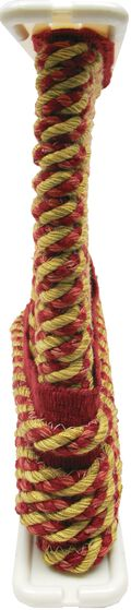 Conso 3/8in Red/gold Cord W/ Lip