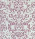 Sew Lush Fleece Fabric 58\u0022-Blush Damask