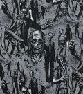 Halloween Cotton Fabric 45\u0022-Zombie!