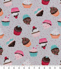 Snuggle Flannel Fabric 42\u0027\u0027-Cupcakes & Confetti