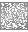 Ultimate Crafts Bohemian Bouquet 6\u0027\u0027x6\u0027\u0027 Stencil-Field of Daisies