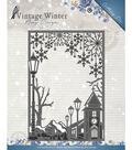 Find It Trading Amy Design Vintage Winter Die-Straight Village Frame