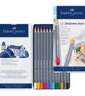 Creative Studio 12 pk Goldfaber Aqua Watercolor Pencils in Metal Tin
