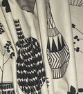 P/Kaufmann Multi-Purpose Decor Fabric 54\u0027\u0027-Ebony Mid Century Mod