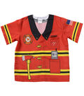 My 1st Career Gear Firefighter Top, One Size Fits Most Ages 3-6