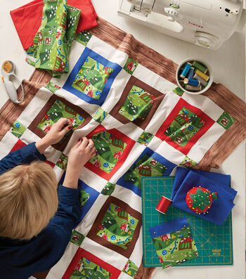 How To Make A Barnyard Baby Quilt