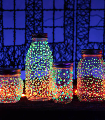 How To Make A Glow in the Dark Firefly Jar